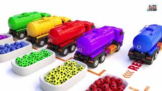 Learn Colors with Cars | Kids | Color Rainbow