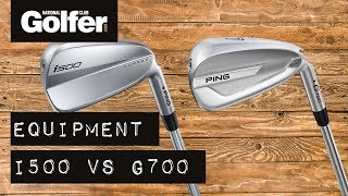 Ping I500 V Ping G700 Irons   Which Are Most Forgiving?