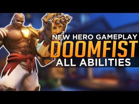 Overwatch: DOOMFIST GAMEPLAY! – All Abilities Breakdown