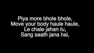 Lyrics | Baadshaho | Emraan Hashmi | Sunny   - YouTube