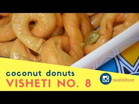 VISHETI VYA NO. 8   COCONUT DONUTS IN SYRUP
