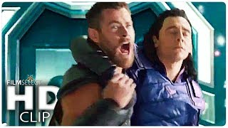 THOR RAGNAROK: 5 Clips from the Movie (Marvel 2017)