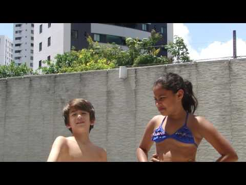 desafio da piscina com meu primo