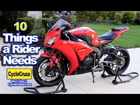 10 Things Every Motorcycle Rider NEEDS