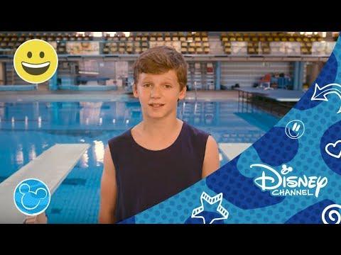 Tírate a la piscina: Salto de Trampolín con Rocío Velázquez | Disney Channel España