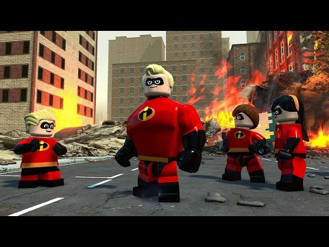 Gameplay de LEGO The Incredibles