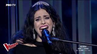 Alma Boiangiu - Chandelier   Live 1   Vocea Romaniei 2018