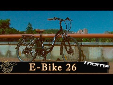 Test de Bicicleta eléctrica Moma Ebike26