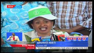 Elizabeth Ongoro storms ODM offices demanding free and fair nominations