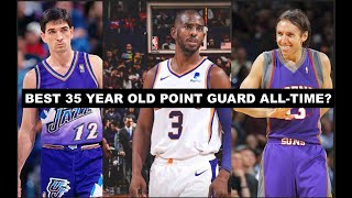 Where Does 2021 Chris Paul Rank Amongst the Best 35-Year Old Point Guards All-Time?