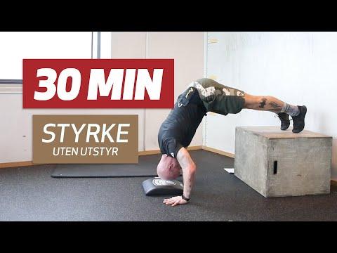 Styrke 30 min – 3T