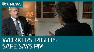 In full: Boris Johnson says workers' rights are 'enshrined' in new Brexit deal | ITV News