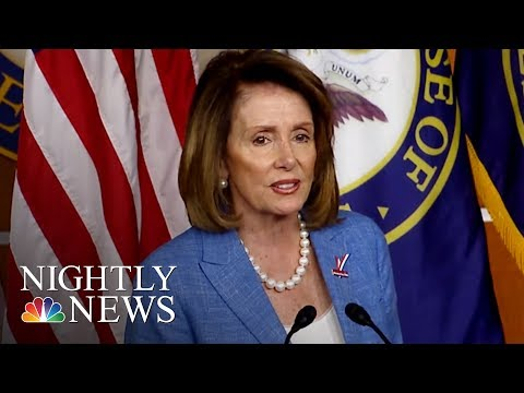 Nancy Pelosi On Criticism From Dems: 'I Think I'm Worth The Trouble'   NBC Nightly News