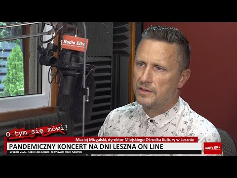 Wideo1: Maciej Mizgalski zaprasza na koncert z okazji Dni Leszna
