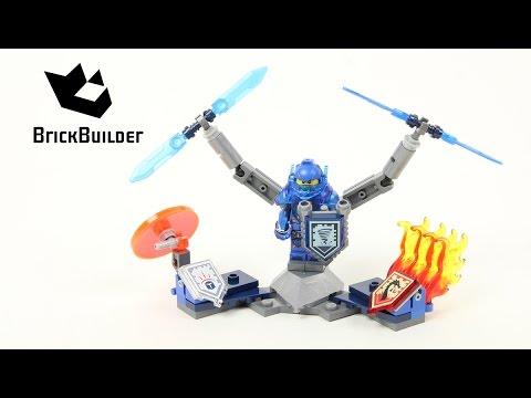 Vidéo LEGO Nexo Knights 70330 : Clay l'Ultime chevalier