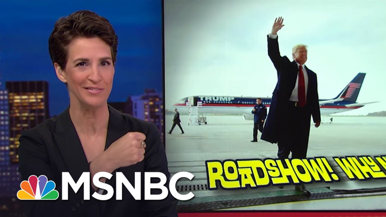 Donald Trump Lays Out Pre-Inauguration 'Thank You' Tour | Rachel Maddow | MSNBC thumbnail