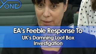 EA's Feeble Response To UK's Damning Loot Box Investigation
