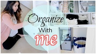 Baby Changing Table & Closet! Organize With Me