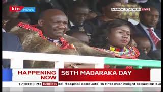 Joint choir from Narok performance during #MadarakaDay2019