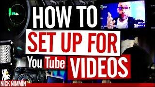 YouTube Video Recording Setup