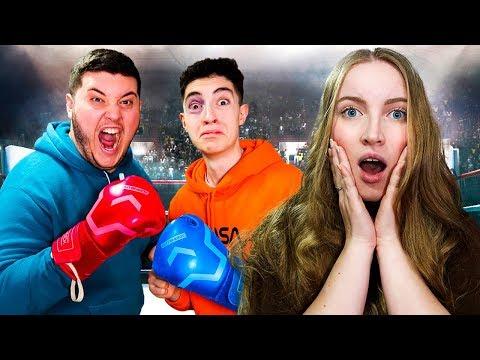 Me enfrento a mi amigo en un combate de boxeo por su novia... *acaba mal*