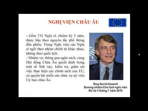 Tiết 66: Liên Minh Châu Âu