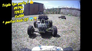 Séance triple fpv RC car 12428-A979b-EAT04-audi Q7 ????
