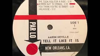 AARON NEVILLE...  A HARD NUT TO CRACK.