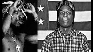 2Pac/ASAP Rocky- Leaf Remix (Clams Casino)