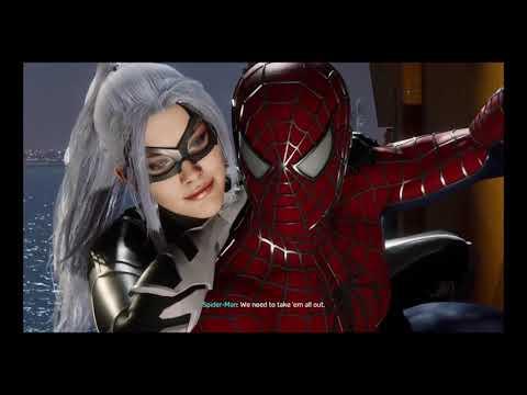 Epic Black Cat Chase In Sam Raimi Suit Spider Man Ps4