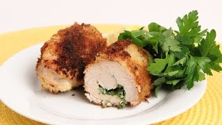 Homemade Chicken Kiev Recipe - Laura Vitale - Laura In The Kitchen Episode 884