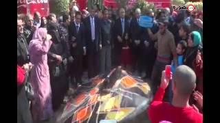 preview picture of video 'إفتتاح حديقة الاندلس بحي شرق المنصورة'