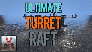 Ultimate Turret Raft Build - ARK: Survival Evolved