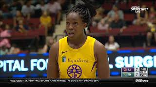 New York Liberty-Los Angeles Sparks. 20-07-19.