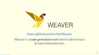 Maintaining a Swift project's dependency graph with Weaver