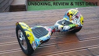 THE BEST IN MARKET HOVERBOARD  (SMART BALANCING MINI SEGWAY) UNBOXING & REVIEW