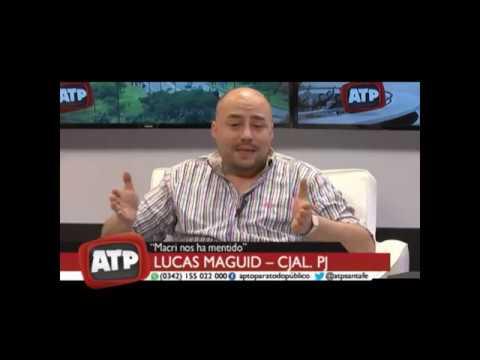 Lucas Maguid - reinserción laboral de víctimas de trata de personas - ATP 10 12 18