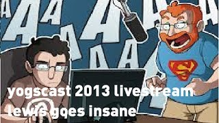 Yogscast Moonquest Livestream Lewis Goes Insane