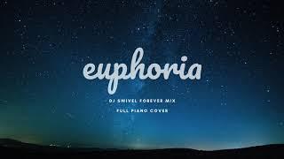 BTS JK (방탄소년단 정국)   Euphoria (DJ Swivel Forever Mix) FULL Piano Instrumental Cover