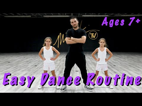 Easy Dance Routine - (Hip Hop Dance Tutorial AGES 7+) ... - YouTube