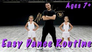Easy Dance Routine - (Hip Hop Dance Tutorial AGES 7+)  | MihranTV