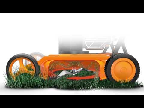 Was ist Mulchen am Beispiel AS-Motor Mulchmäher