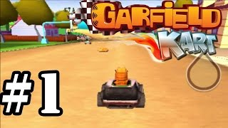 Garfield Kart   Lasagna Cup 150cc   Gameplay Walkthrough Part 1 [ 3DS ]