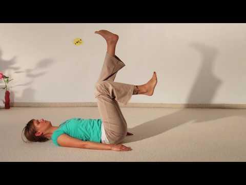Der Winkel des Hüftgelenks Verdünnung des Kindes