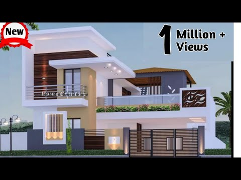 30 Desain Rumah Cantik tampak Depan | 2 lantai