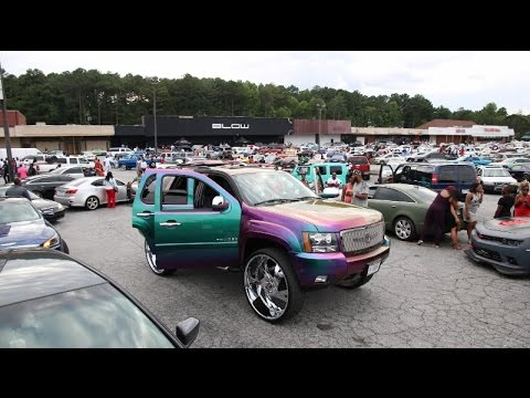 WhipAddict: StuntWorld Block Party, Custom Cars, Big Rims, Atlanta, GA