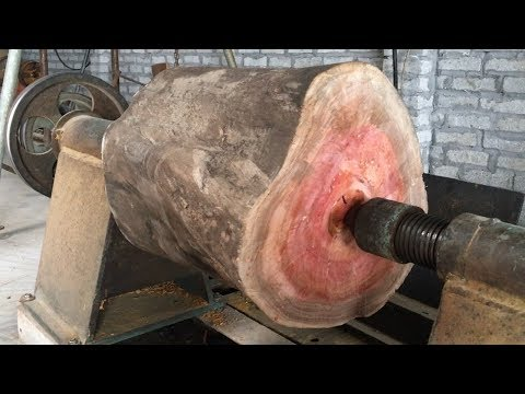 Amazing Techniques Extreme Fast Woodworking Creative Smart – Work Wooden Lathe Art