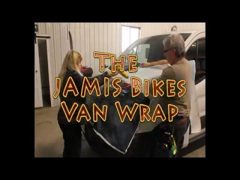 The Jamis Bikes Van
