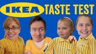 Ikea Food Haul Taste Test