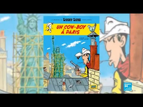 New Lucky Luke series to be set in Paris to celebrate its 70th anniversary
